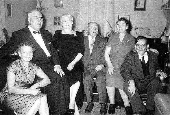 Arthur, Bertha, Harvey Remington and Spouses