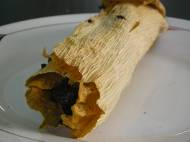 Black bean tamale