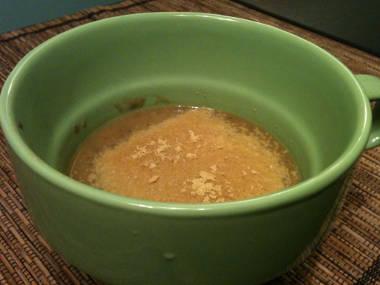 Infamous lentil soup