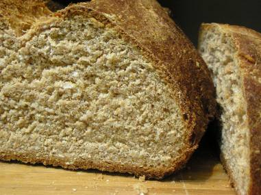 Wholly whole wheat bread